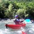 Le lauzet sur ubaye , kayak , raft ,