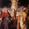 Annibale Carrache, Crucifixion, 1583, H/T, 305x210cm, ste Marie de la charité, Bologne