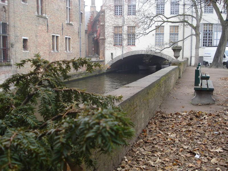 Bruges, dans les jardins Gruuthuuse
