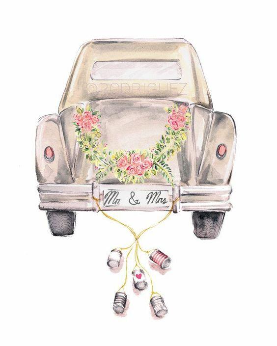 illustration-voiture-mariage-pinterest-blog-alice-sandra