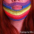 Knit for peace ! pimp ta life soutient conchita wurst toi aussi crochète ta barbe en -de30mn + pattern free