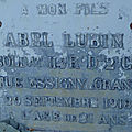 Lubin abel (coings) + 30/09/1918 essigny-le-grand (02)