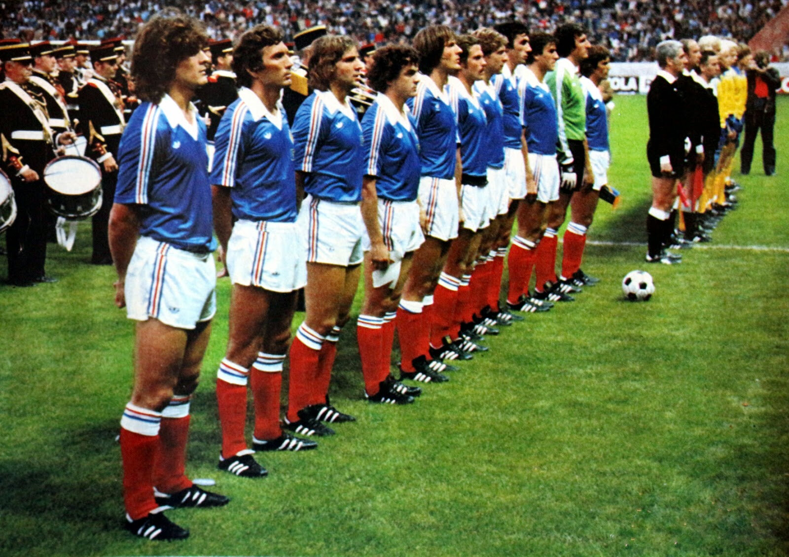 1er septembre 1978 FRANCE-SUÈDE ... MATCH QUALIFICATIF POUR LE CHAMPIONNAT D'EUROPE DES NATIONS