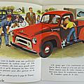 Livre ancien ... les camions (1956) * petit livre d'argent