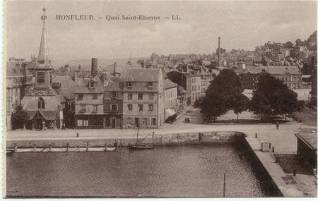 14 - HONFLEUR - Quai Saint Etienne