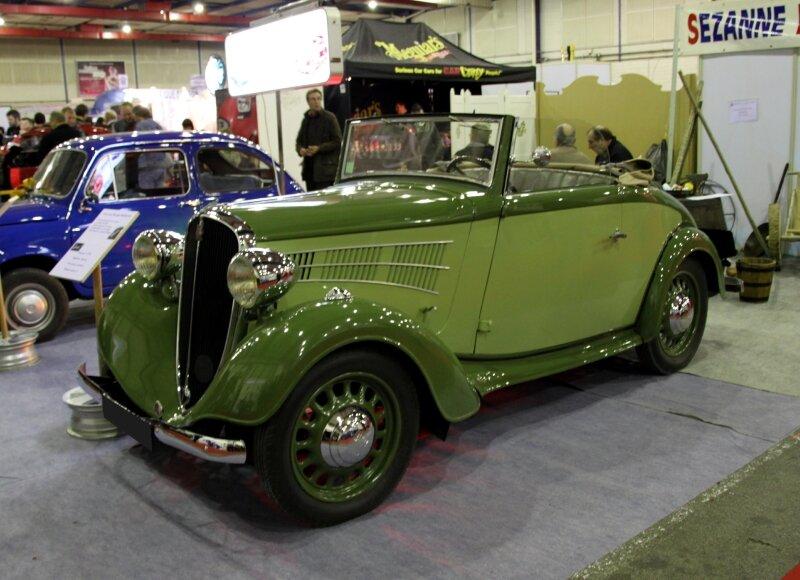Fiat balilla cabriolet de 1936 (23ème Salon Champenois du véhicule de collection) 01