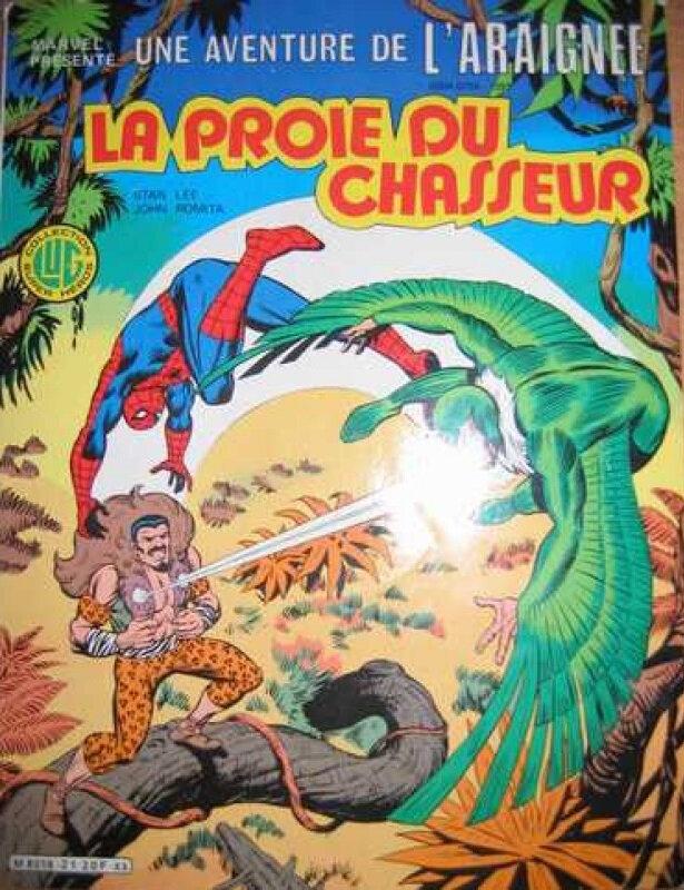 lug une aventure de l'araignée 21 la proie du chasseur