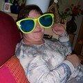 ... et ma mère, façon Bozo le clown !