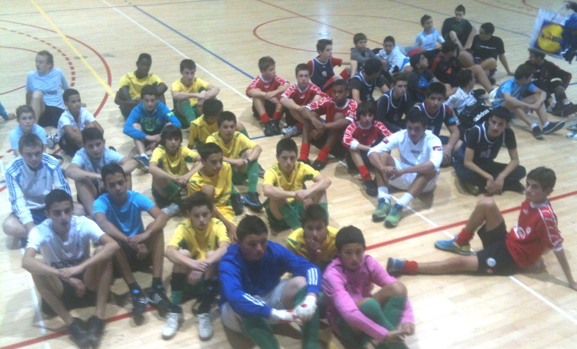 les 8 équipes MG Futsal