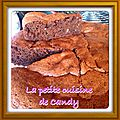 Moelleux courgettes/chocolat