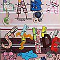 Bonnafous Ines labastide art postal fête du fil 2015