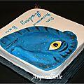 Gâteau Avatar vue biais