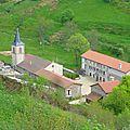 L'abbaye vue d'en haut