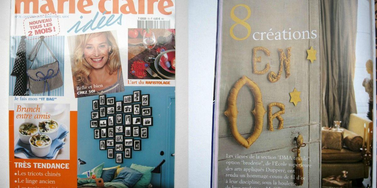 Marie Claire Idées - janvier 2010