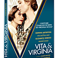 Sortie vidéo vita & virginia / l'histoire unique et passionnelle de deux grandes femmes de lettres