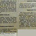 199 - vinciguerra jacques - 1056 - son carnet 1969/1970
