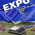 Expo concert du 23 mars 2013 !!