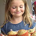 muffins aux mures sauvages
