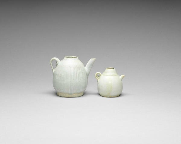 Two qingbai waterdroppers, Song Dynasty