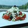 Salade bulgare, la shopska salata