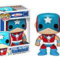 Pop heroes steel patriot