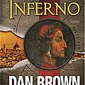 Inferno dan brown dans ses best-sellers