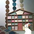 Une maisonette toute en couleur + soldes