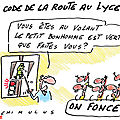 Le permis de conduire où la nouvelle préoccupation des français!! ( on se marre...)