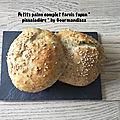 Petits pains complet farcis façon