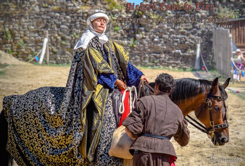 Richard coeur de lion, Capturé à son retour de croisade (5)