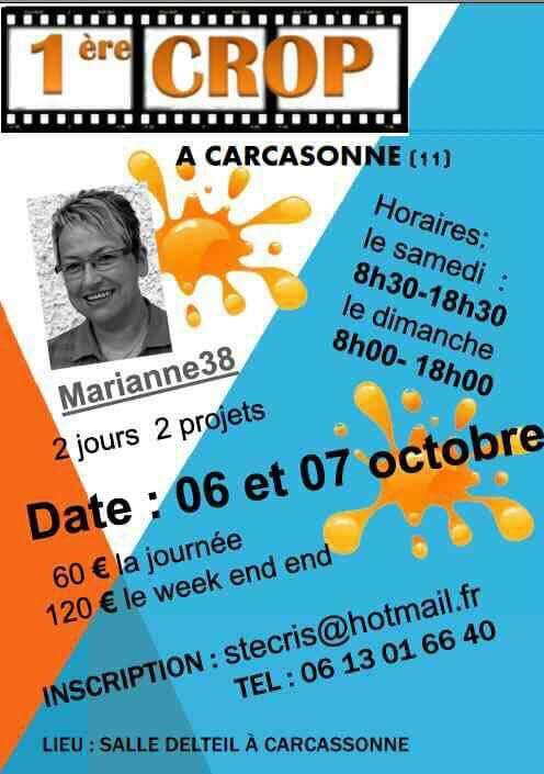affiche crop carcassonne