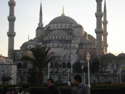 La grande mosquée bleu