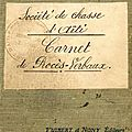 01 - 0785 - fattaccini don matteo - garde chasse en 1936