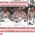 Les meilleurs services des sciences occultes de reine pretresse tchagou winri