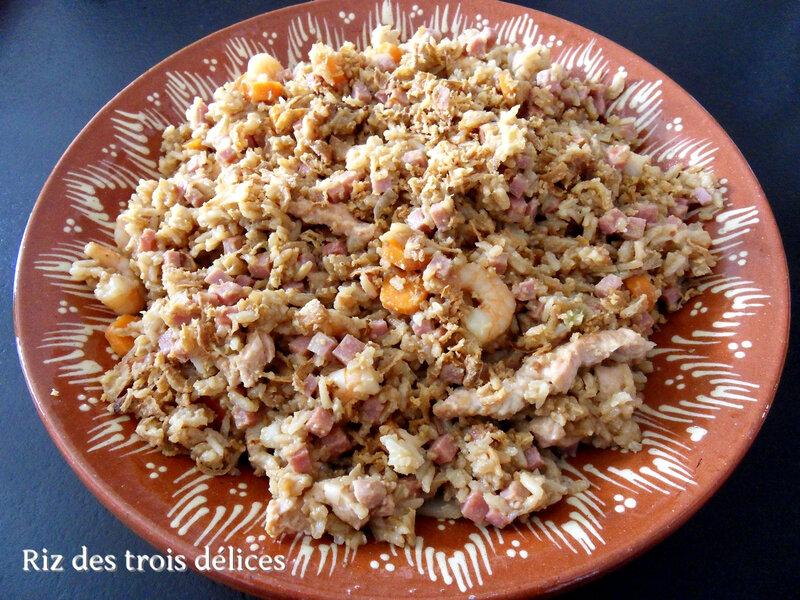 riz des trois délices
