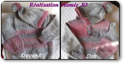 Pull taille 4 ans