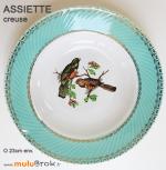 ASSIETTE-creuse-BADONVILLER-Oiseaux-muluBrok-Vintage