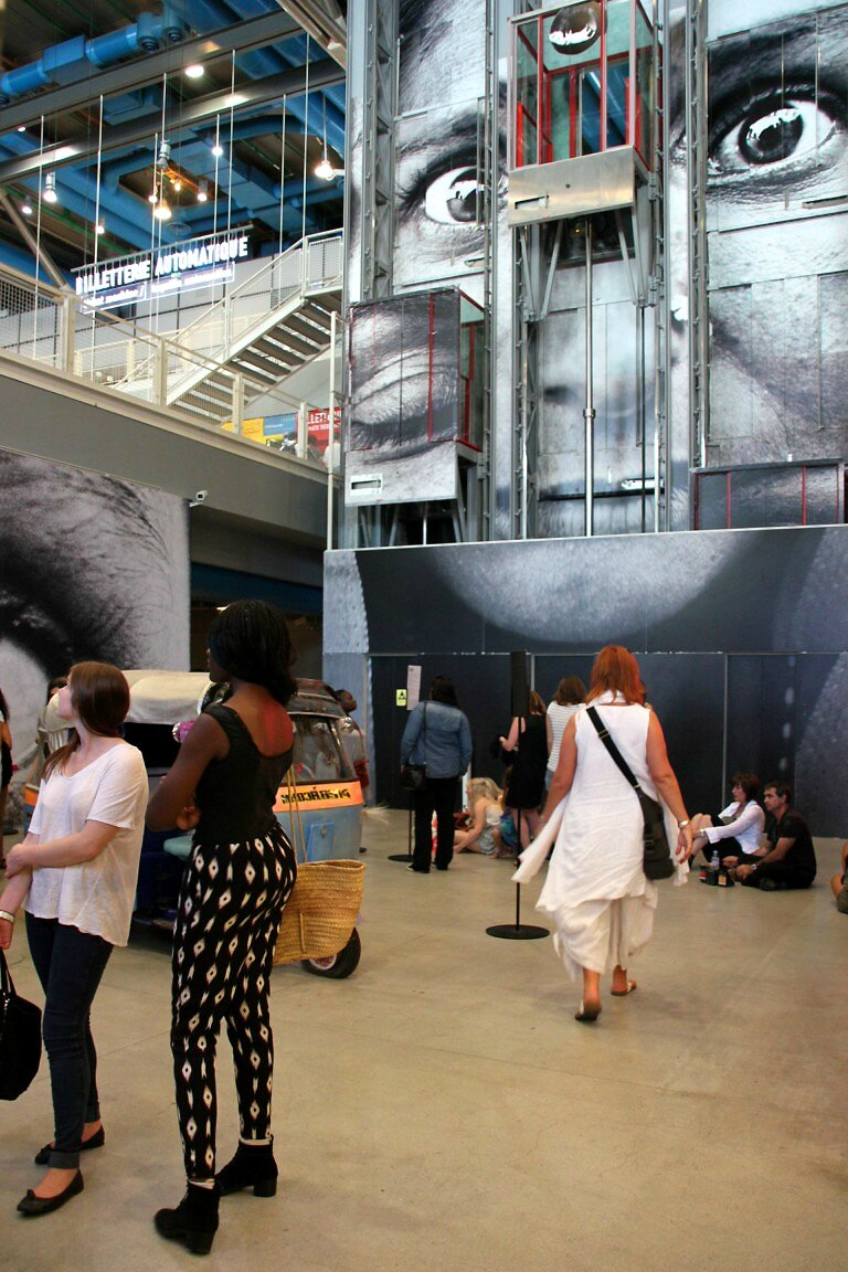 JR - Inside Out Beaubourg_1565