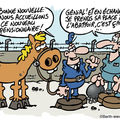 Les chevals de la liberté...