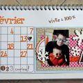 calendrier de bureau TOGA février