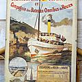 Collection ... anciennes gravures chemin de fer * seine maritime 76