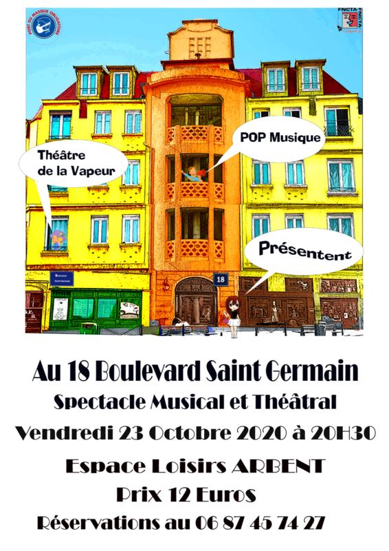 au 18 boulevard saint germain 23-10-2020