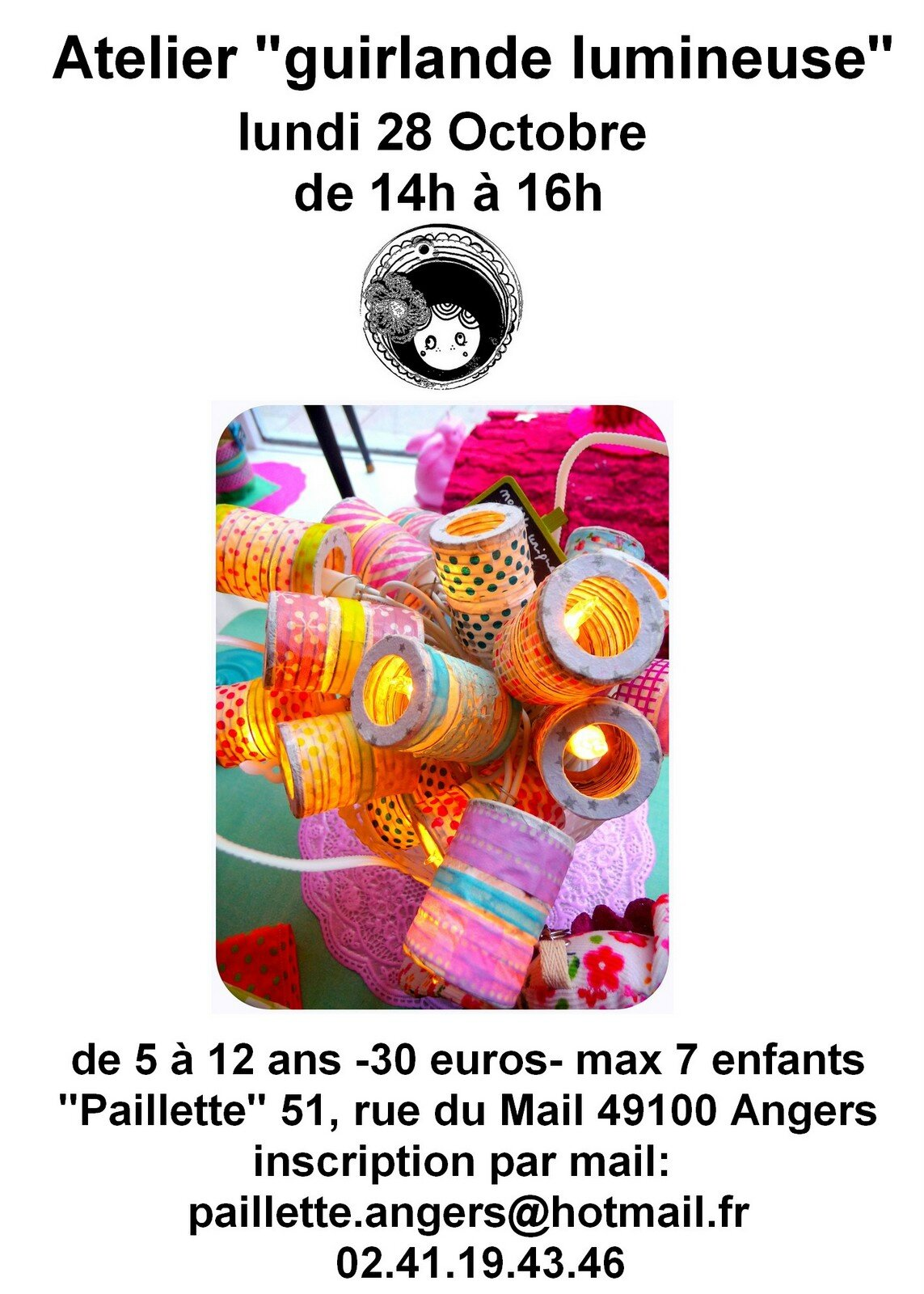 FLYER ATELIER GUIRLANDE OCT 2013