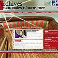 Les archives d'outre-mer (aix-en-provence) : un site en anglais