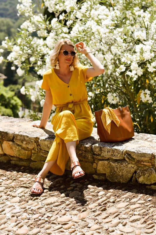 l'été en combinaison jaune -styliz (2)