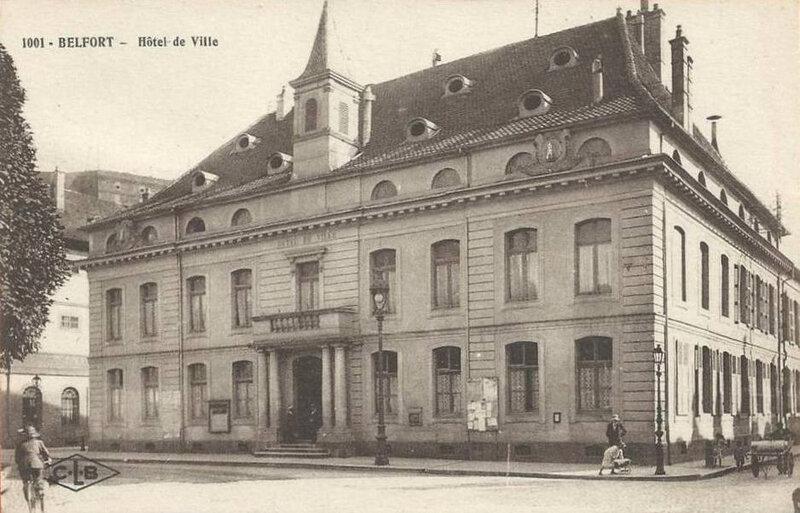 CPA Belfort Hôtel de Ville 1