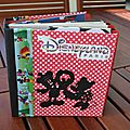 Mini album disneyland paris