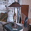 """Lampe """"Le gardien de Sato"""" de Renaud Richard"""