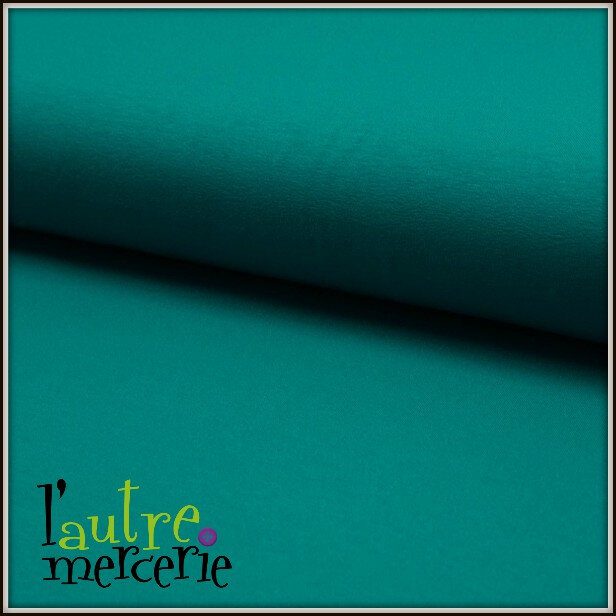 jersey de luxe turquoise