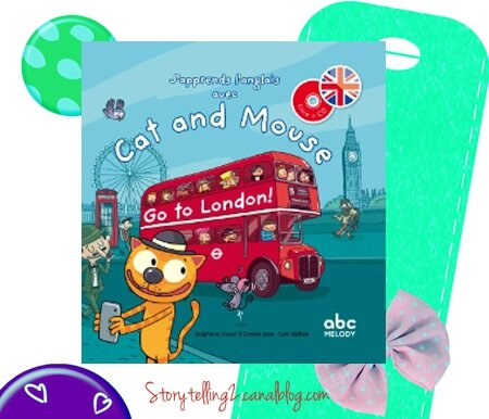 Cat and Mouse go to London, cycles 2 et 3, séquence This is ... et localisation Where is ... ?
